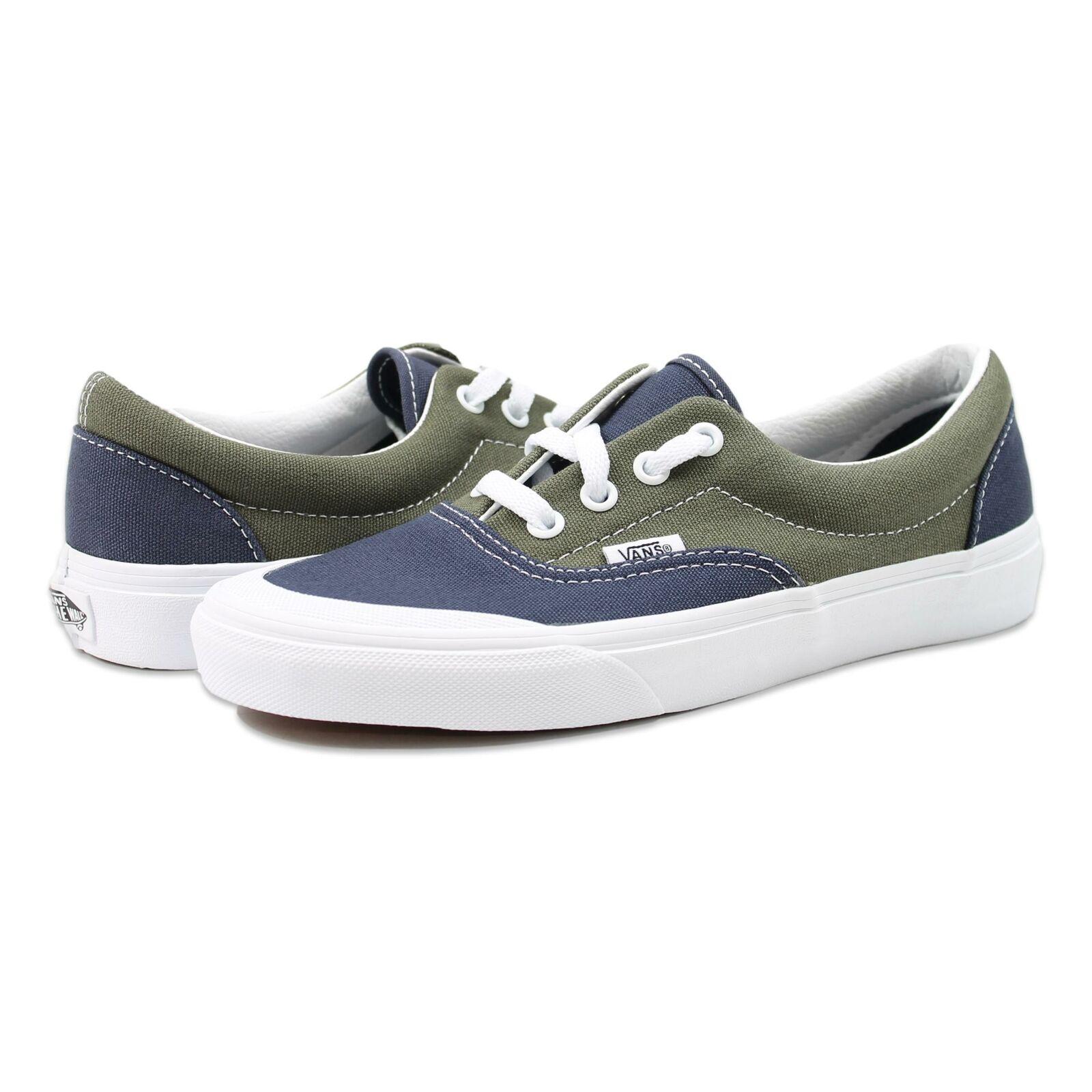 Vans Mens Era TC 2 Tone Shoes Parisian Night Grape Leaf 6 New