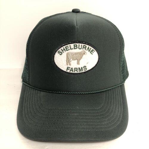Vintage Shelburne Farms Cattle Ranch Snapback Truc