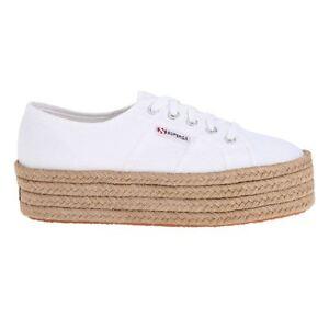 Nuove Scarpe Superga Sneaker Donna 2790 cotropew Bianco White Women