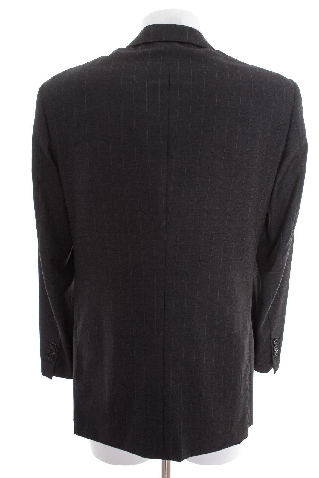LANVIN Anzug Gr. DE 46 Herren Business Business Business Suit Schwarzgrau Wolle  | Spielen Sie auf der ganzen Welt und verhindern Sie, dass Ihre Kinder einsam sind  | Online  | Klein und fein  e39bf2