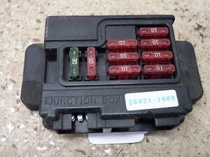 ex250 wiring diagram 2001 kawasaki ninja    ex250    junction box fuse box ebay  2001 kawasaki ninja    ex250    junction box fuse box ebay