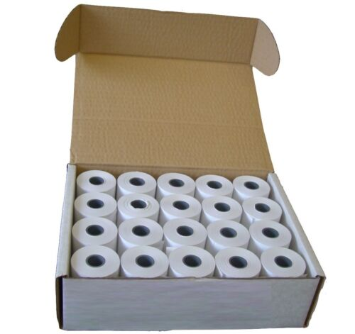 20 x Till Thermal Paper Credit Card Chip Pin Machine Roll 57x40mm Value TR5740