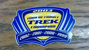 TREK-2003-TOUR-DE-FRANCE-TREK-CHAMPION-2002-2001-2000-1999-3-3-8-X-2-1-2
