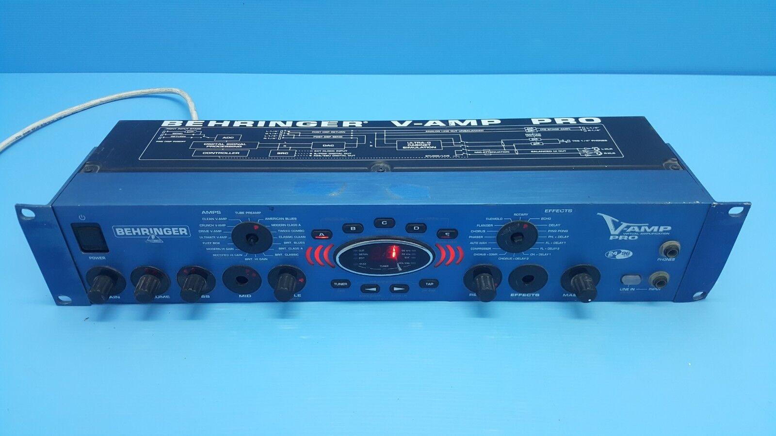 Behringer V-AMP LX1 PRO Virtual Amplification and Effects 24 Bit 96 kHz