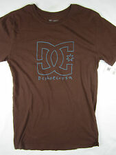 DC Shoes Mikey Taylor skate soft short sleeve t shirt men's brown size XL