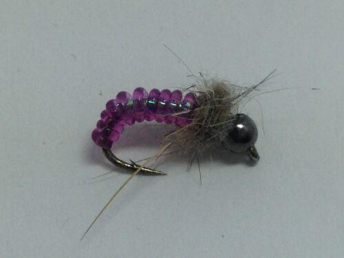 Jelly Caddis Pupa Beadhead #12 Trout Flies