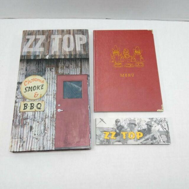 ZZ Top - Chrome, Smoke & BBQ: The ZZ Top Box 2003 Warner ...