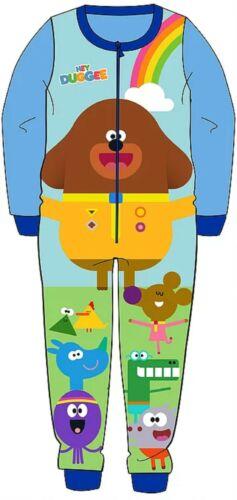 Boys Hey Duggee Toy Story Buzz Fleece Sleepsuit Pyjamas all in one 18mths-5Y