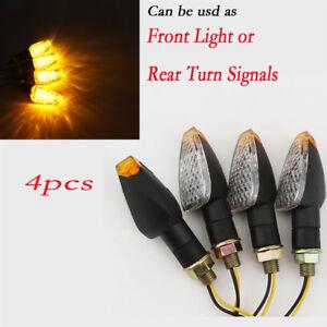 4x LED Turn Signal Lights for Yamaha Road Star Warrior Midnight XV1600 XV1700