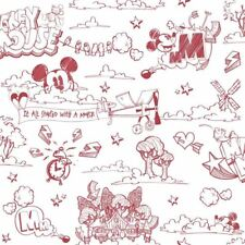 Item 6 NEW OFFICIAL DISNEY MICKEY MOUSE PATTERN PENCIL CARTOON CHILDRENS WALLPAPER ROLL