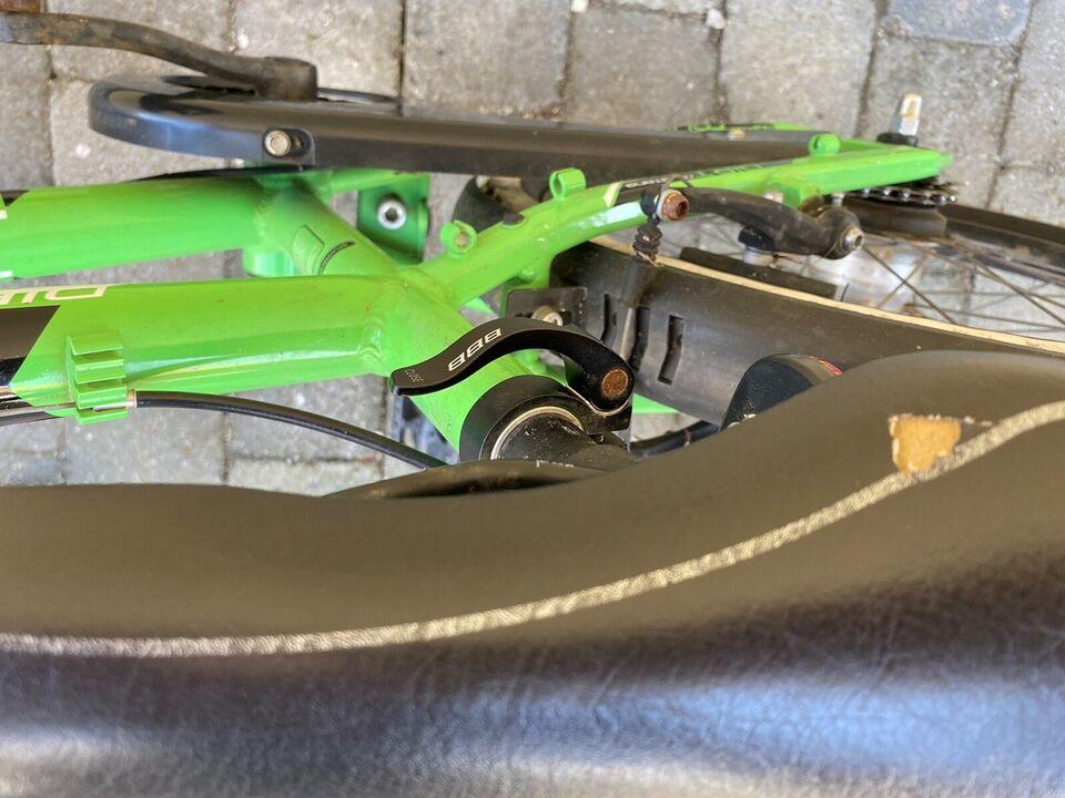Drengecykel, mountainbike, Mustang