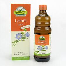 (20,98/L) 3x Rapunzel Leinöl nativ bio 500 ml