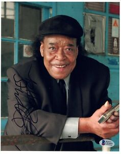 James Cotton Signed Autographed 8x10 Photo Muddy Waters Blues Beckett BAS COA