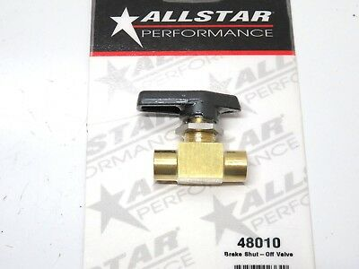 Allstar Performance ALL48011 Brake Shut-Off Valve Decal