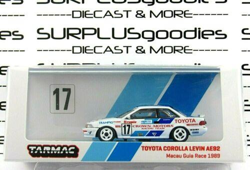 Tarmac Works 2020 Macau GP Special Edition 1989 TOYOTA COROLLA AE92 Guia #17