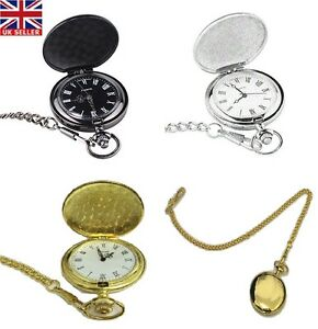 Men-039-s-Vintage-Hollow-Steampunk-Mechanical-Analog-Quartz-Pocket-Watch-Fob-Gift