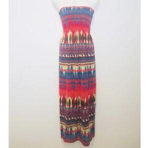 No-Boundaries-Women-039-s-Long-Dress-Size-M-7-9-Maxi