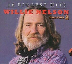 FREE US SHIP. on ANY 3+ CDs! ~Used,Good CD Nelson, Willie: 16 Biggest Hits 2