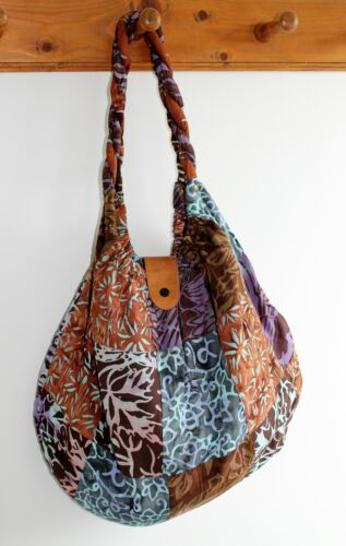 NEW LADIES WOMENS HAND SHOULDER BAG TOTE PATCHWORK FABRIC AVAILABLE IN 9 COLOURS