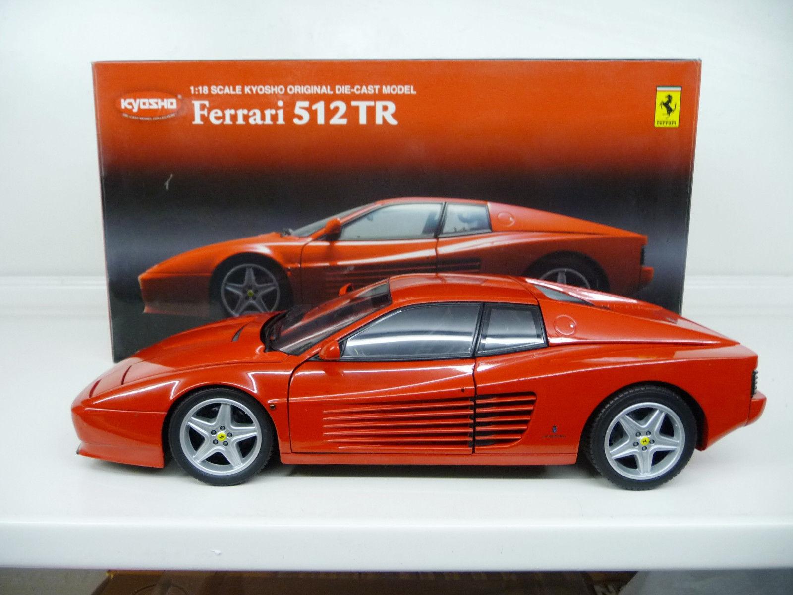 Ferrari 512 TR rouge Kyosho 1 18 08423R NEW RARE