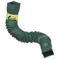 Lot Of 12 Green Flex-a-spout Downspout Extension 85011 Adds Up To 55