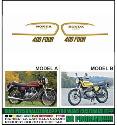 kit adesivi stickers compatibili cb 400 four 1987