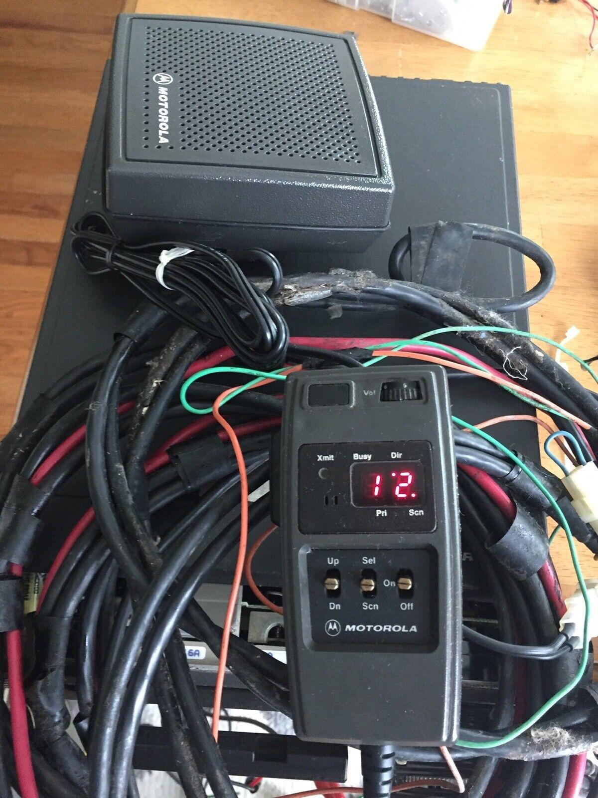 Motorola T81XTA7TA5BK Maratrac 110 Watt VHF Low Band 99 Channel Radio /HCN1051A. Buy it now for 99.99