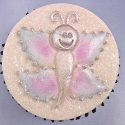 Karen davies moule en silicone neuf dans emballage papillon Cupcake Topper Moule