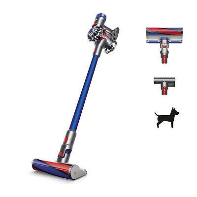 Dyson V7 Fluffy HEPA Cordless Vacuum Cleaner | Blue | New 885609016900 | eBay
