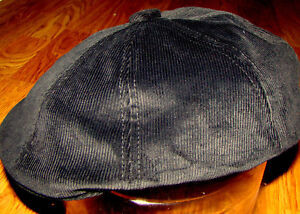 bc7f3ced Image is loading Black-KANGOL-Corduroy-Hawker-Style-K4177HT