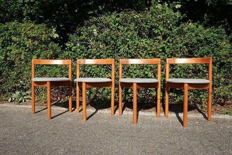 Anden arkitekt, Hans Olsen sæt af fire Frem Røjle stole,