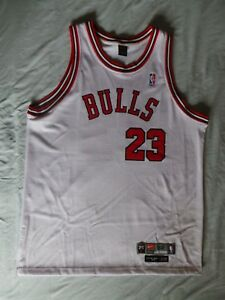 Image is loading Nike-Chicago-Bulls-authentic-Michael-Jordan-Rookie-Jersey- 36144b59be88