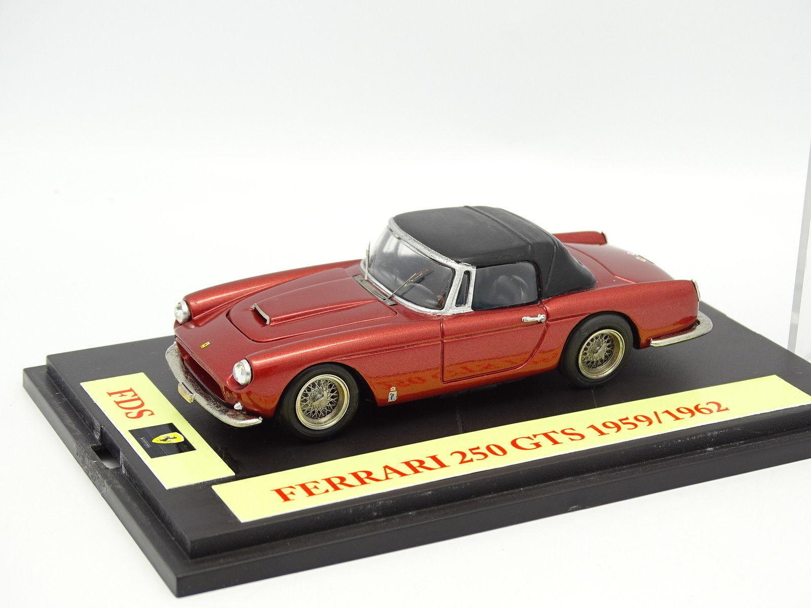Kit Monté Base FDS 143  Ferrari 250 GTS 1959 1962 blue  Ouvrante