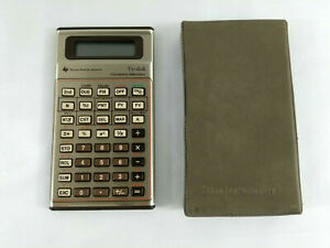 Calculatrice-Vintage-Texas-Instruments-TI-44-Constant-Memory-HS-Pour-pieces