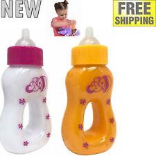 Set of 2 Pretend Play Magic Baby Bottles