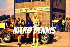 TROPHY GIRLS NHRA Photo 8x10 ADRA Vintage DRAG Racing YORK US 30 Strip