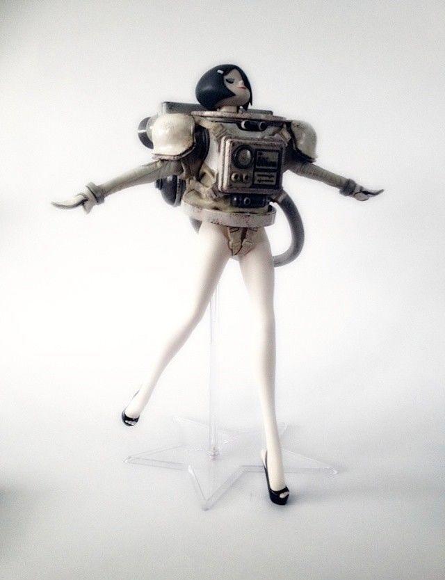 3A TOYS 1 12 Scale Ashley Wood WWR Lasstranaut Dark Matter Female Figure Doll