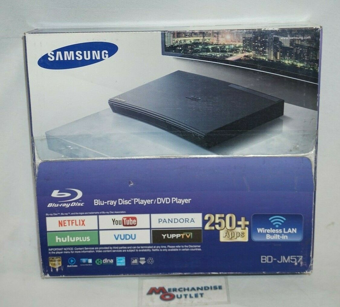 Samsung BD-JM57C Blu-ray and DVD Player with Wi-Fi Streaming and dvd player samsung streaming with