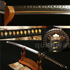 "41""FULL TANG 1095 CARBON STEEL CLAY TEMPERED JAPANESE SAMURAI  KATANA VERY SHARP"