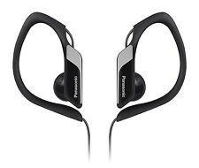 Panasonic RP-HS34 Water/Sweat Resistant In Ear Sports Headphone - Black