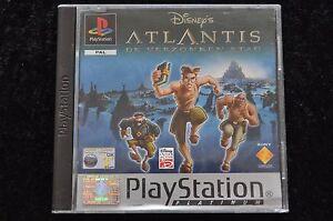Disney-039-s-Atlantis-De-Verzonken-Stad-Platinum-Playstation-1-PS1