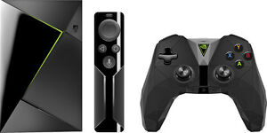 NVIDIA - SHIELD TV 16 GB Streaming Media Player with Controller - Black