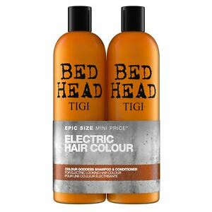 Details About Tigi Bed Head Colour Goddess Shampoo And Conditioner Tween X 750ml