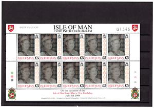 Briefmarken-Isle-Of-Man-1994-5-Hologram-Definitive-July-5th-1994