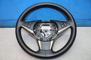 BMW-5er-E60-Bj-05-Volant-6020602C-F034016602-Cuir-Chapeau-Traces-D-039-Utilisation