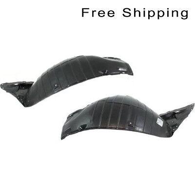 Rear Section Fender Splash Shield Front Set of 2 LH /& RH Side Fits Nissan 350Z