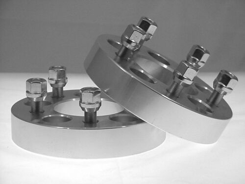 2 Pc CROWN VICTORIA 5x4.50 Wheel Spacer Adapter 1.00 Inch # AP-5450A1//2