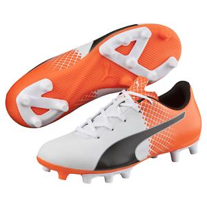 Kids Puma Evospeed 5.5 Tricks FG Cleated Soccer Shoe Orange 5.5 #NGR2K-M377