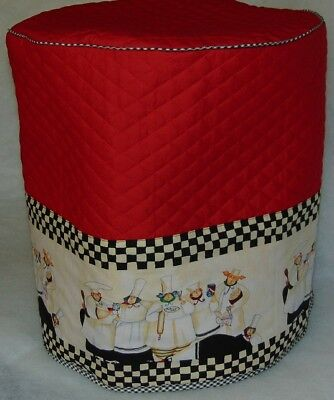 Round Rooster /& Sunflowers Quilted Fabric Cover for NuWave Infrared Oven NEW