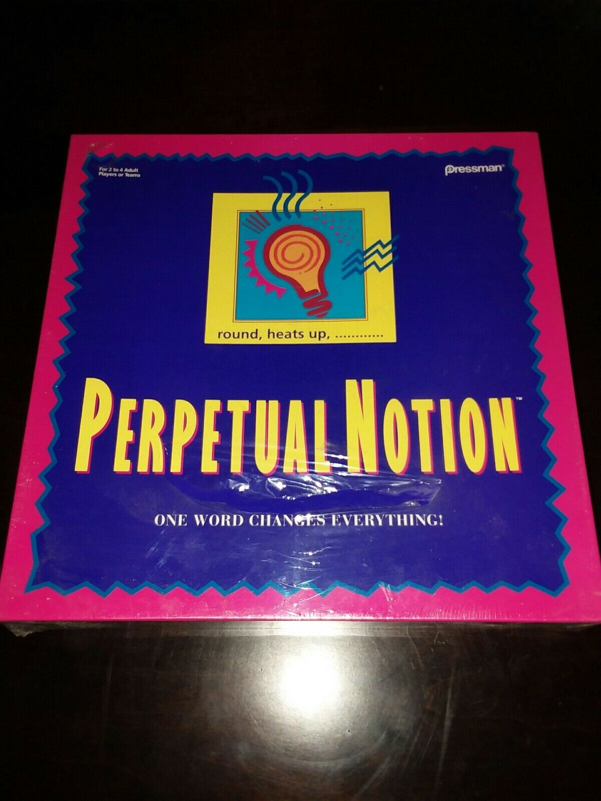 Vintage Perpetual Notion Board Game (1993) [Still Sealed]